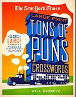 The New York Times Large-Print Tons of Puns Crosswords