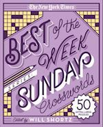 The New York Times Best of Sunday Crosswords (New York Times Crossword Puzzles)