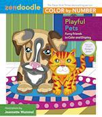 Playful Pets (Zendoodle Color by number)