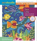 Sea Life (Zendoodle Color by number)