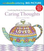 Caring Thoughts (Zendoodle Coloring)