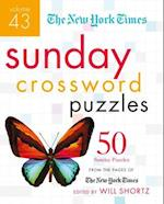 The New York Times Sunday Crossword Puzzles (New York Times Crossword Puzzles, nr. 43)