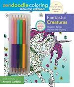 Fantastic Creatures Zendoodle Coloring (Zendoodle Coloring)