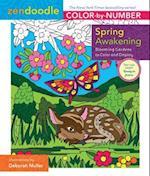Spring Awakening (Zendoodle Color by number)