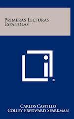Primeras Lecturas Espanolas af Carlos Castillo, Colley Fredward Sparkman