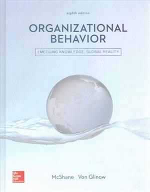 Bog, løsblade Organizational Behavior af Steven Mcshane