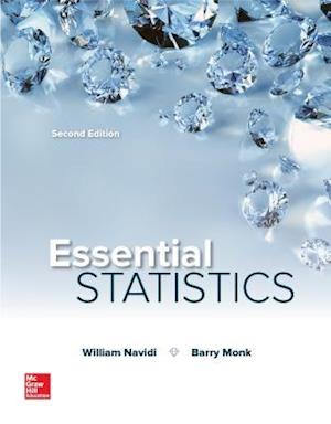 Bog, hardback Essential Statistics af William Cyrus Navidi, Barry Monk