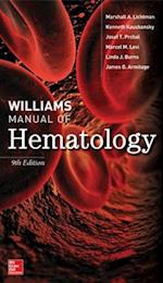 Williams Manual of Hematology, Ninth Edition