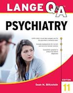 Lange Q&A Psychiatry, 11th Edition (LANGE)