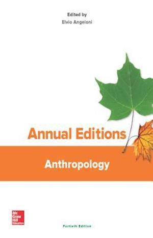 Bog, paperback Annual Editions Anthropology af Elvio Angeloni