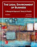 Legal Environment of Business, a Managerial Approach