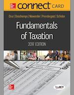 Connect Access Card for Fundamentals of Taxation 2017 Ed, 10e