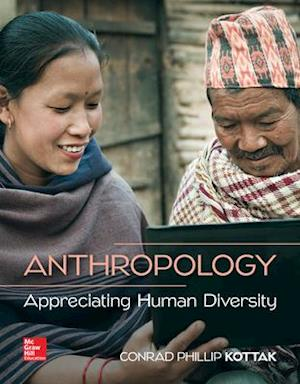 Bog, løsblade Anthropology: Appreciating Human Diversity af Julian H Steward Collegiate Professor Emeritus Conrad Kottak