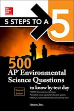 McGraw-Hill 5 Steps to A 5 500 AP Environmental Science Questions to Know by Test Day (Mcgraw-HIll 5 Steps to a 5)