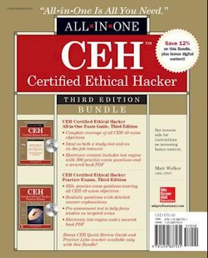 Bog, paperback CEH Certified Ethical Hacker Exam Guide / CEH Certified Ethical Hacker Practice Exams af Matt Walker