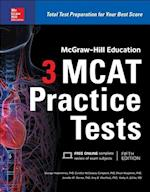 McGraw-Hill Education 3 MCAT Practice Tests