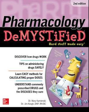Bog, paperback Pharmacology Demystified af Mary Kamienski