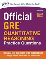 Official GRE Quantitative Reasoning Practice Questions, Second Edition, Volume 1 (Test Prep)