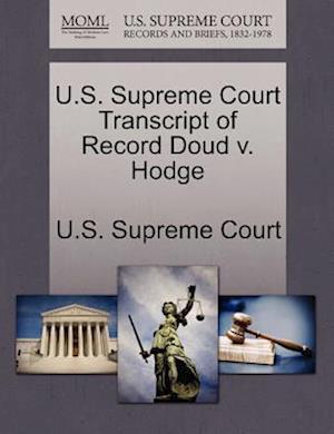 U.S. Supreme Court Transcript of Record Doud v. Hodge