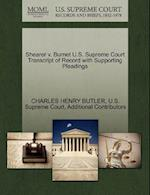 Shearer v. Burnet U.S. Supreme Court Transcript of Record with Supporting Pleadings