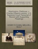 Washington, Petitioner, V. Charles Edward Lesnick. U.S. Supreme Court Transcript of Record with Supporting Pleadings