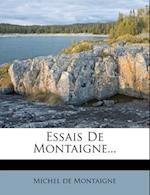Essais de Montaigne...
