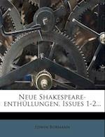 Neue Shakespeare-Enthullungen.