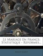 Le Mariage En France af Ernest Cadet