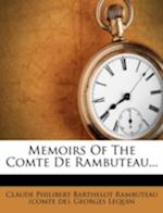 Memoirs of the Comte de Rambuteau... af Georges Lequin