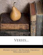 Verses... af Henry Goelet Mcvickar