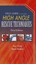 Field Guide to Accompany High Angle Rescue Techniques af Steve Hudson, Tom Vines