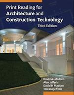 Print Reading for Architecture and Construction Technology (Book Only)