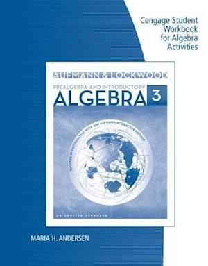 Student Workbook for Aufmann/Lockwood's Prealgebra and Introductory Algebra: An Applied Approach, 3rd