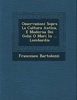 Osservazioni Sopra La Cultura Antica, E Moderna Dei Gelsi O Mori in ... Lombardia af Francesco Bartolozzi