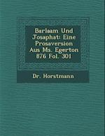 Barlaam Und Josaphat