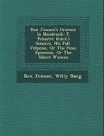 Ben Jonson's Dramen in Neudruck