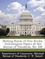 Melting Points of Fire Bricks af C. W. Kanolt