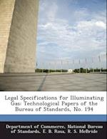 Legal Specifications for Illuminating Gas