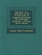 Tub Taam af Aaron Zebi Friedman