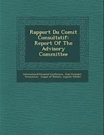 Rapport Du Comit Consultatif