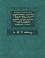 Woodbury's Elementary German Reader