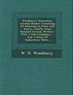Woodbury's Elementary German Reader af W. H. Woodbury