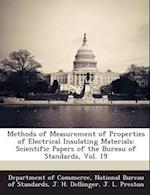Methods of Measurement of Properties of Electrical Insulating Materials af J. L. Preston, J. H. Dellinger