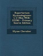 Repertorium Hymnologicum