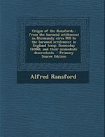 Origin of the Ransfords af Alfred Ransford