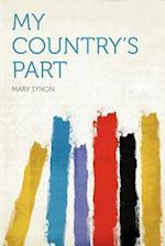 My Country's Part af Mary Synon