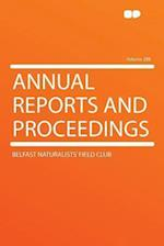 Annual Reports and Proceedings Volume 208 af Belfast Naturalists Club