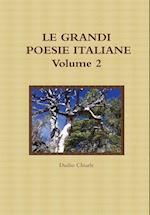 LE Grandi Poesie Italiane - Volume 2 af Duilio Chiarle