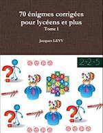 70 Enigmes Corrigees Pour Lyceens Et Plus af Jacques Levy