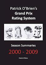 Patrick O'Brien's Grand Prix Rating System: Season Summaries 2000-2009